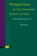 Perspectives on New Testament Textual Criticism
