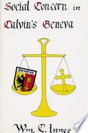 Social Concern in Calvin's Geneva
