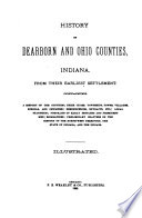 History of Dearborn and Ohio Counties, Indiana