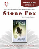 Stone Fox by John Reynolds Gardiner Book