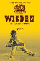 Wisden Cricketers' Almanack 2017