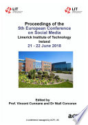 ECSM 2018 5th European Conference on Social Media