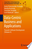 Data Centric Business and Applications