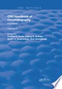 Handbook of Chromatography