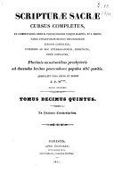 Scripturae sacrae cursus completus