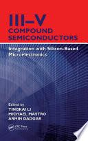 III–V Compound Semiconductors