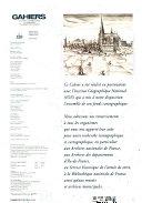 Cahiers de l'Institut d'aménagement et d'urbanisme de la région d'Ile-de-France