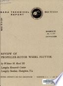 Review of Propeller-rotor Whirl Flutter