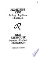 New Redhouse Turkish-English Dictionary