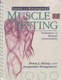 Daniels and Worthingham's Muscle Testing