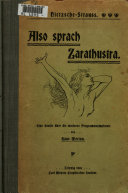 Richard Strauss' Tondichtung Also sprach Zarathustra