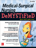 Cover of Medical-Surgical Nursing Demystified, Second Edition