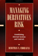 Managing Derivatives Risk Book PDF