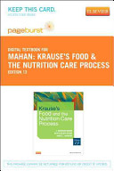 Krause's Food & the Nutrition Care Process Pageburst Access Code