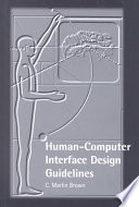 Human computer Interface Design Guidelines Book