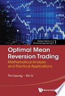 Optimal Mean Reversion Trading