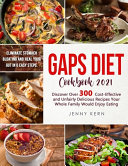 Gaps Diet Cookbook 2021 Book