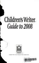 Children s Writer Guide to 2006