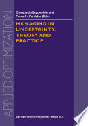 Managing in Uncertainty  Theory and Practice Book