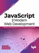 JavaScript for Modern Web Development