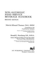 Non alcoholic Food Service Beverage Handbook Book