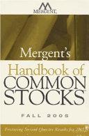 Mergent s Handbook of Common Stocks