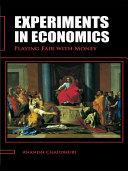 Pdf Experiments in Economics Telecharger
