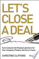 Let s Close a Deal Book PDF