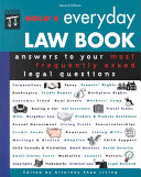 Nolo's Everyday Law Book: Answers to Your Most Frequently Asked ...