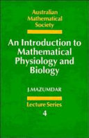 An Introduction to Mathematical Physiology and Biology Book