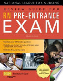 """""""Review Guide for RN Pre-Entrance Exam"""" by Natl League Nursing"""