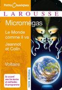 Pdf Micromegas ; Le monde comme il va ; Jeannot et Colin Telecharger