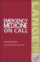 Emergency Medicine On Call Book PDF