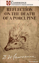 Reflection on the Death of a Porcupine Pdf/ePub eBook