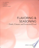 Flavor and Seasoning