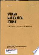 Saitama Mathematical Journal