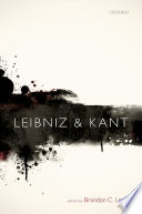Leibniz and Kant Book