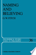 Naming And Believing