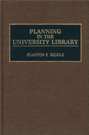 Planning in the University Library