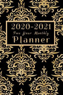 2020 2021 Two Year Monthly Planner