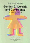 Gender  Citizenship and Governance