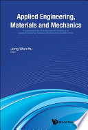 Applied Engineering  Materials and Mechanics