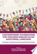 Contemporary Foundations For Teaching English As An Additional Language PDF