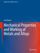 Mechanical Properties and Working of Metals and Alloys [Pdf/ePub] eBook