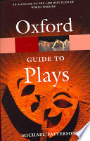 The Oxford Guide to Plays Book