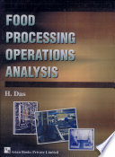 Food Processing Operations Analysis