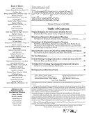 Journal of Developmental Education Book