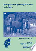 Forages and grazing in horse nutrition Book
