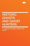 Historic Ghosts and Ghost Hunters Online Book