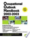 Occupational Outlook Handbook  2002 2003